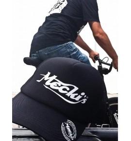 Black unisex cap Mecki's CMN22