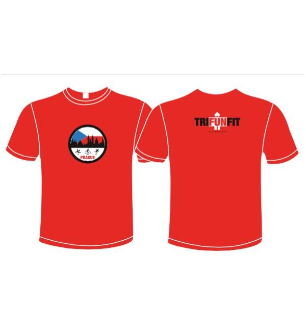 Pánské šedé tričko I Love Training early 011-TFTMG