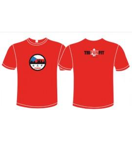 Maglietta rossa triathlon Prague 12-TFTMG