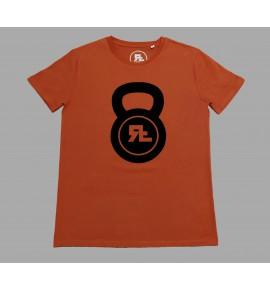 Červené pánské tričko Kettlebell 17-RF