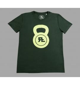 Zelené pánské tričko Kettlebell 15-RF