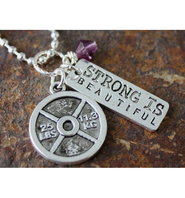 Collana I Work To Be Strong 03BL