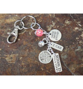 Key Chain I Loves to Workout 04BL