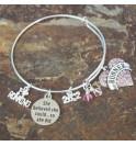 Running bangle bracelet 010J