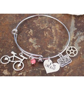 Bracciale Love Biking 0018J