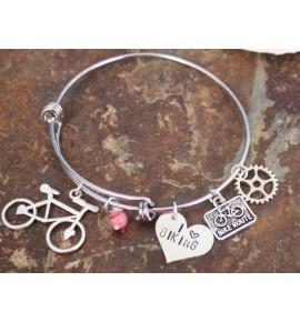 Náramek Love Biking 0018J