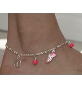 Love Running Ankle Bracelet 018J