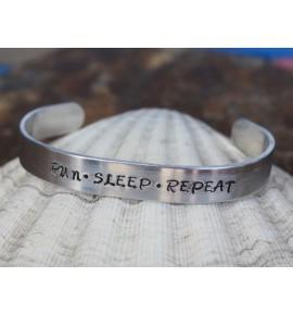 Bracciale Run Sleep Repeat 019J