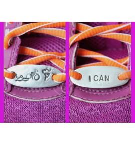 Decorazione per le scarpe Triathlon, I can 022JR