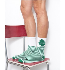 Green Stinky socks black CMB11