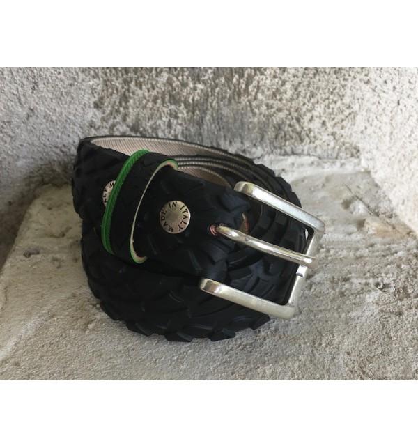 Pánský pásek B-Recycled C009M, Size 48, Barva Černá B - Recycled C009M