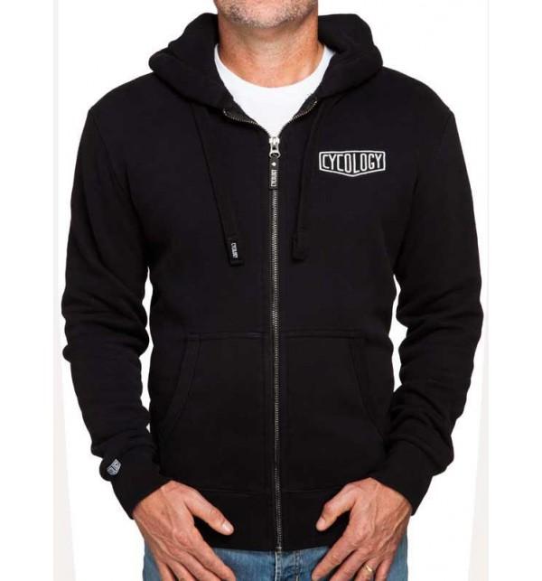 Black hoodie man Cycology 042-FMNE
