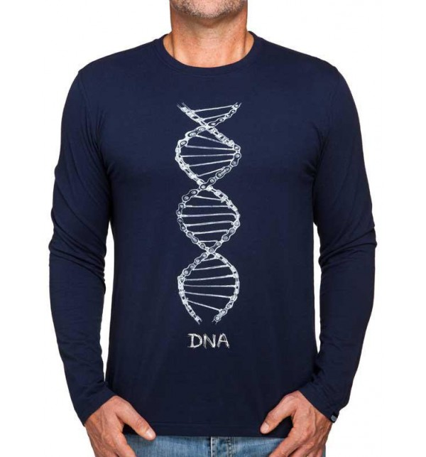 T-shirt long sleeve DNA 007-MMBL