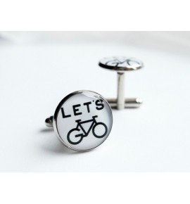 Cufflinks Let's Bike GE02