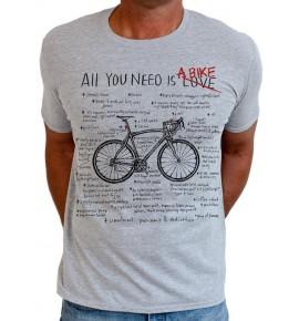 Tričko s cyklistickým motivem All You Need 0031-TMGR