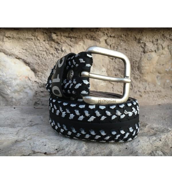 Pánský pásek B-Recycled C010M, Size 48, Barva Černá B - Recycled C010M