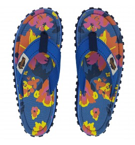 Flip-Flops Gumbies from recycled tires  - Gu0892 - Floral