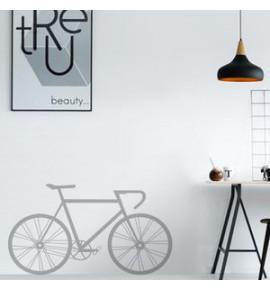 Dekorativní nálepka na zeď s motivem cyklistiky
