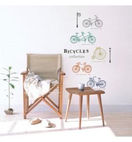 Sticker con motivo di bicicletta