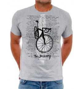 Tričko s cyklistickým motivem The Journey 0036-TMGR