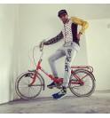 Felpa ciclismo nera Becyclist