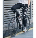 Černá mikina cyklistika Becyclist