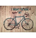 Mouse pad with Block Notes Smile Bike