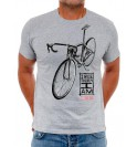 Maglia manica corta I Ride, Therefore I Am
