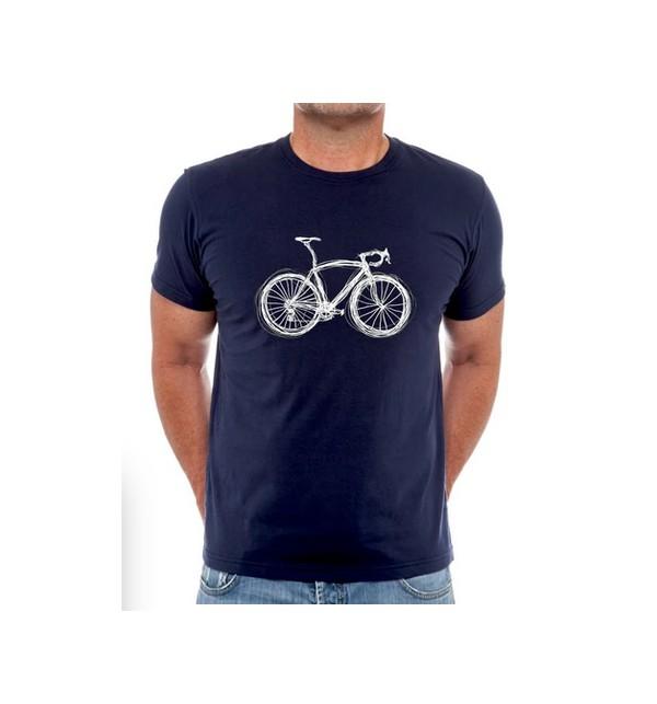 Tričko s cyklistickým motivem Just Bike