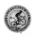 Tričko s motivem cyklistiky Heartbreak Hill