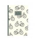 Blok s motivem cyklistiky