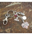 Key Chain Love To Run 012JR
