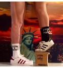 Ponožky Mecki's Ghost bílá CMB03