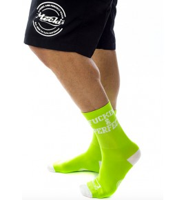 Fucking & Perfect socks white CMB11