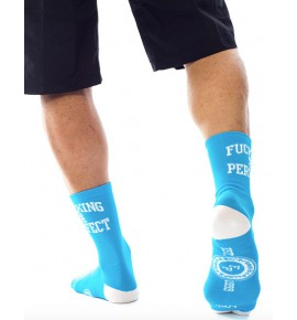 Fucking & Perfect socks blue CMB11