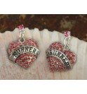 Earrings Run 4 The Bling 016J