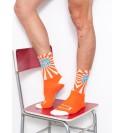 Orange Mood Mecki's socks black CMB18