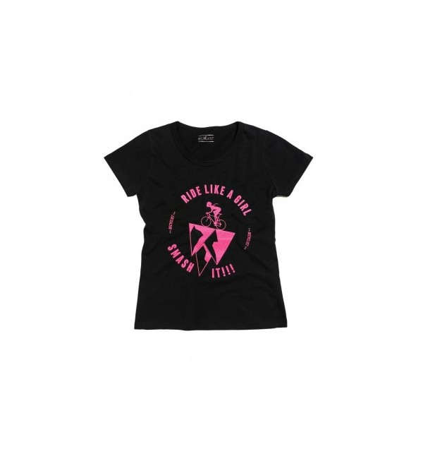 Women cyclist t-shirt Becyclist