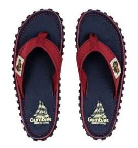Flip-Flops Gumbies from recycled tires  Gu086 - Navy Coast