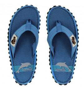 Flip-Flops Gumbies from recycled tires  - Gu084 - Blue Pool