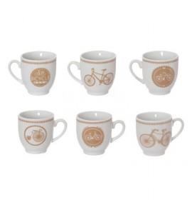 Set Tazzine Da Caffè Biciclette