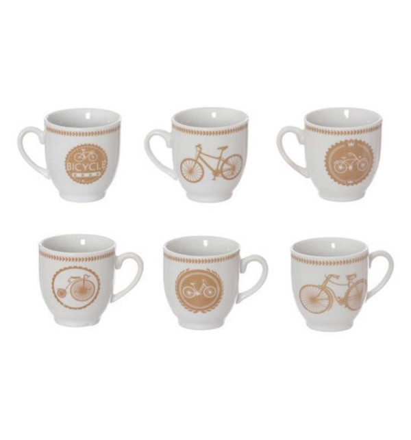 cycling cofee cups