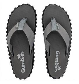 Flip-Flops Gumbies from recycled tires - Gu029 - Duckbill Grey