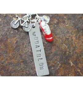 Necklace Duathlon Love 003J