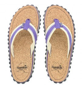 Infradito da pneumatici reciclati  - Gu033 - Corker Purple