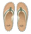 Flip-Flops Gumbies from recycled tires - Gu036 - Corker Khaki