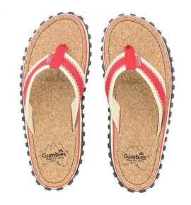 Žabky Gumbies z recyklovaných pneumatik - Gu037 - Corker Red