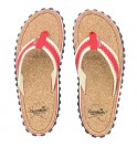 Flip-Flops Gumbies from recycled tires - Gu037 - Corker Red