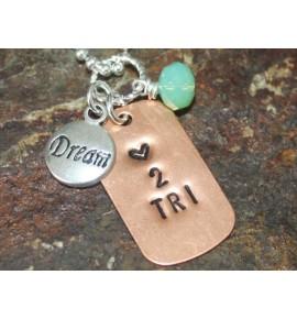 Necklace Love 2 Tri 001J