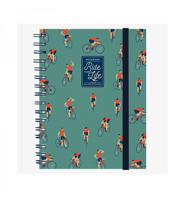 Tappetino Mouse con Block Notes Smile Bike